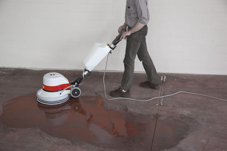 How To Use A Floor ScrubberPolisher National Carpet Cleaner Hire - Stone floor polisher hire