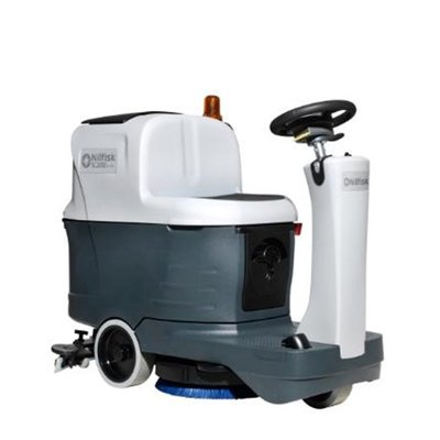 Nilfisk Small Ride-on Scrubber Dryer (SC2000) Hire