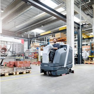 Nilfisk Large Ride-on Scrubber Dryer (SC6000)