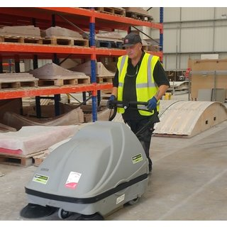 Topfloor Medium Pedestrian Sweeper