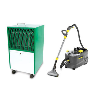 Carpet Cleaner & Dehumidifier Hire Pack